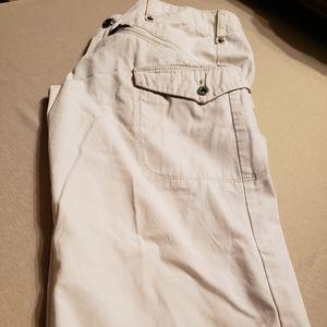 Women's Silver Jean's Capris